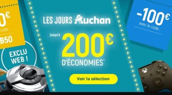 Remise immédiate Jours Auchan