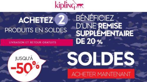 Soldes Kipling livraison gratuite