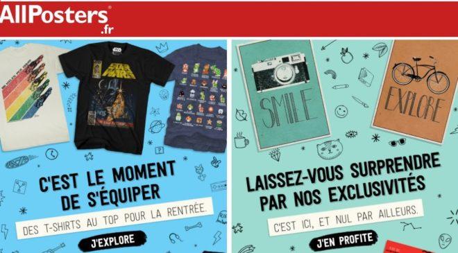 T-shirts, posters et affiches pas chers