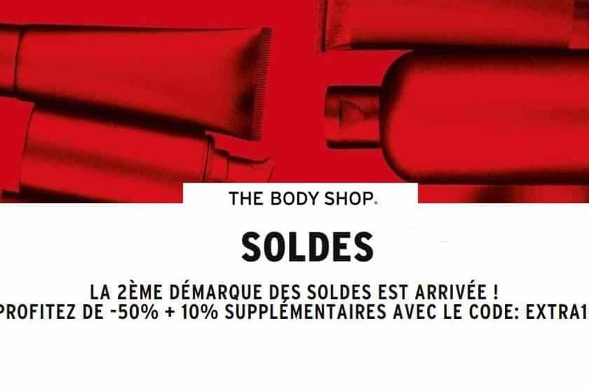 The Body Shop nouvelle démarque