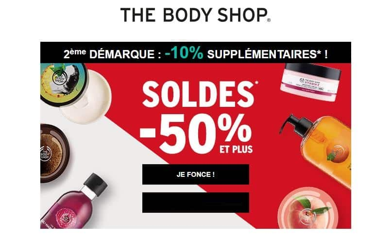 The Body Shop nouvelle demarque