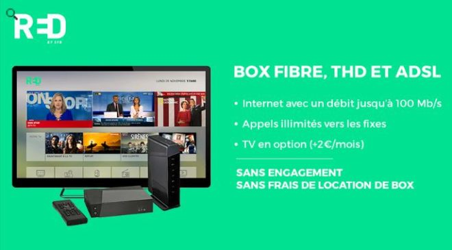 Vente privée RED Box by SFR