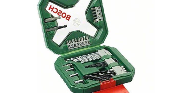 coffret X-Line Bosch de 34 mèches et embouts