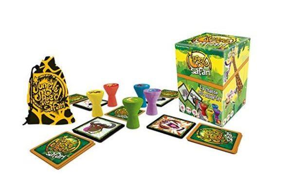 jeu Jungle Safari de Asmodée en soldes