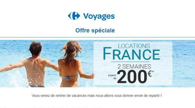 2 semaines de vacances pour 200€