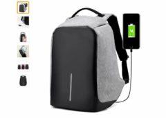20€ le sac a dos fermeture antivol et chargeur USB integre