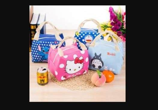 Seulement 2,29 euros le sac Lunch-Box Cartoon enfant