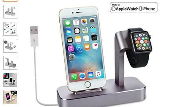 22,99€ le support de charge iPhone + Apple Watch