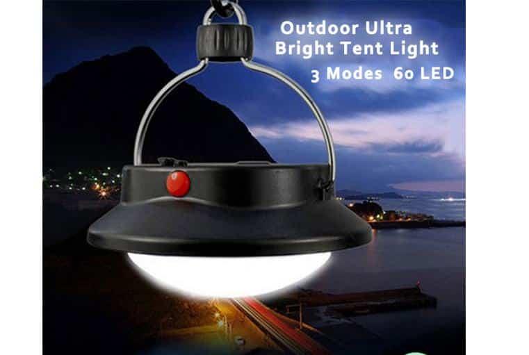 4,32€ la lanterne LED de camping (60 LED)
