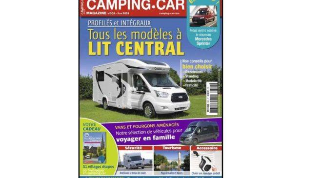 Abonnement Camping-Car Magazine pas cher