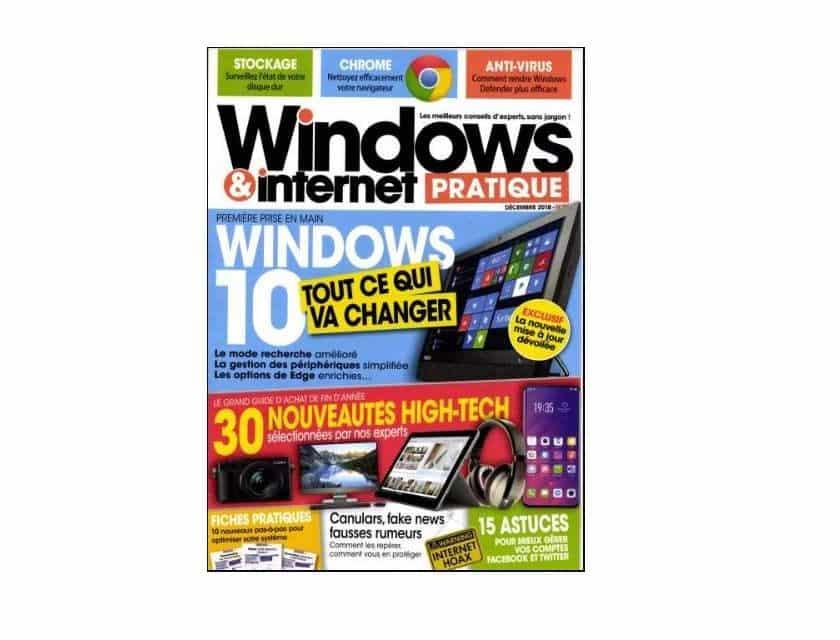 Abonnement Windows & Internet pratique magazine pas cher