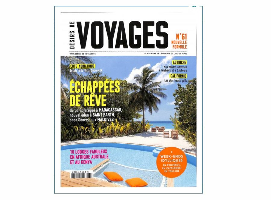 abonnement magazine d sirs de voyages pas cher 18 5 pour 1 an. Black Bedroom Furniture Sets. Home Design Ideas