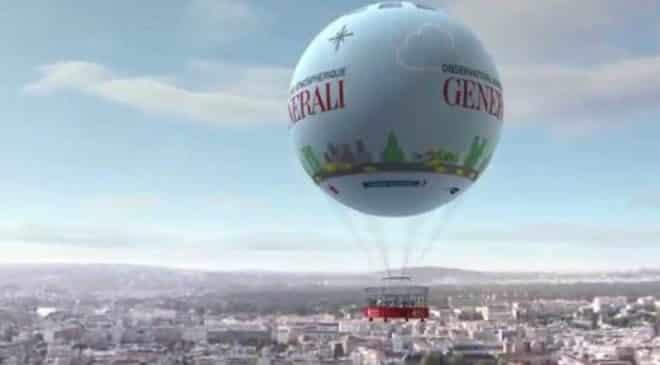 Billet ballon Generali Paris pas cher