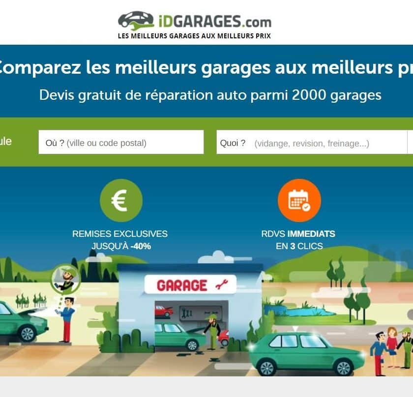 Comparez en ligne les prix des garages