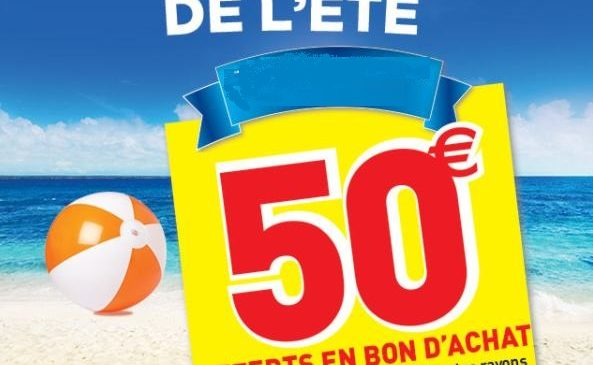 Conforama 50€ offerts en bon d'achat