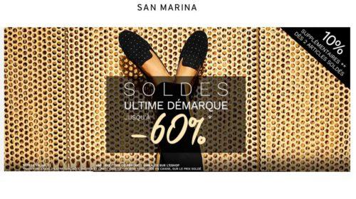 Dernières démarques de San Marina