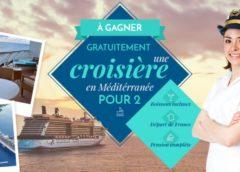 Gagnez une croisière pour 2 en Méditerranée (pension complète boissons comprises)