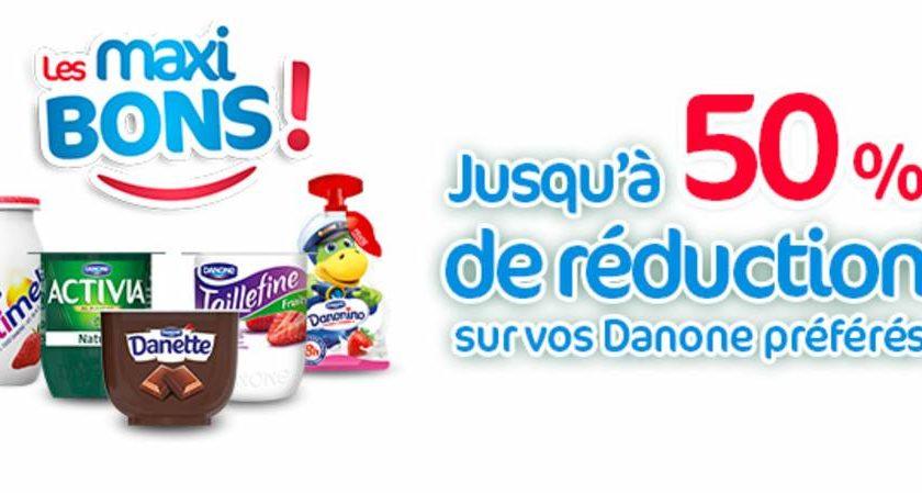 Maxibons Danone coupon de reduction