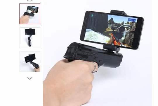 Moins de 10€ le pistolet AR-Gun Bluetooth pour jeu de tir VR