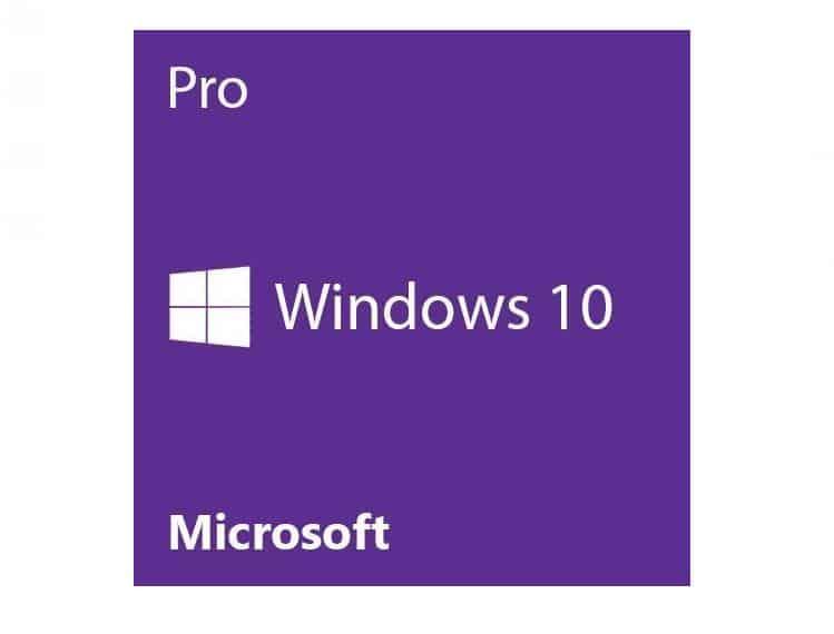 Moins de 12€ Microsoft Windows 10 Pro