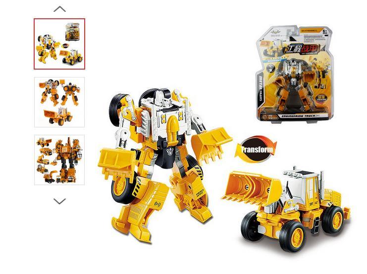Moins de 7€ le jouet type Transformers
