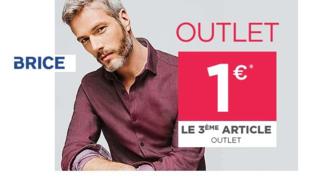 Outlet Brice le troisième à 1 euro