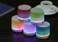 Seulement 4,12€ enceinte Bluetooth – LED portable
