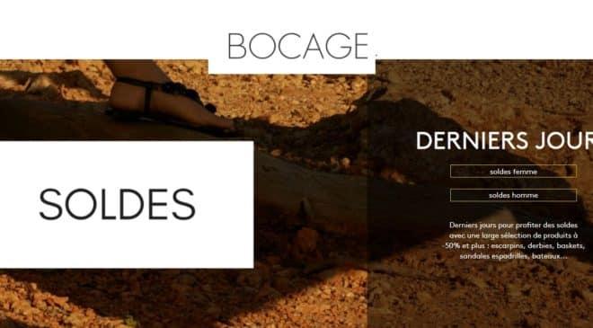 Soldes Bocage : c'est le moment d'acheter chaussures, sac ou accessoires