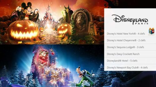 Vente Disneyland Paris Showroomprivé