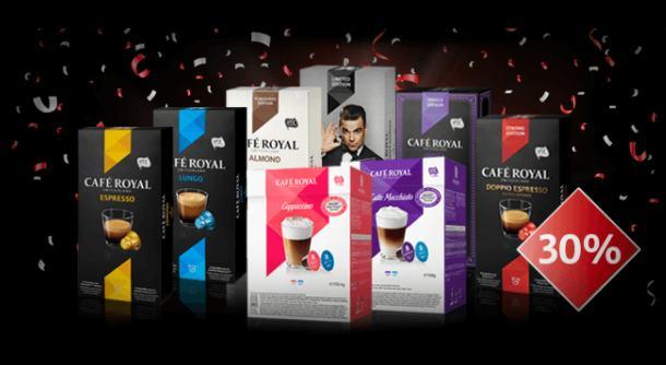 remise sur tout le site Café Royal