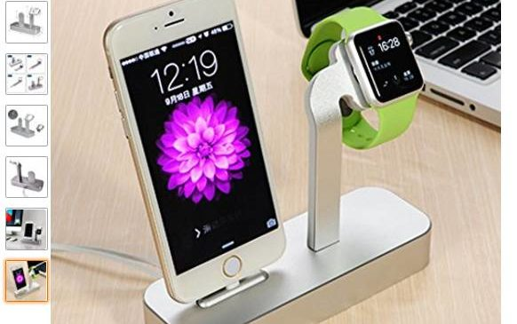 station de charge iPhone + Apple Watch à gagner