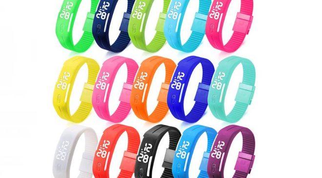 seulement 1,69€ la montre bracelet digital B4A