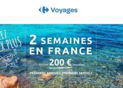 Offre spéciale : 2 semaines de vacances pour 200€ (Carrefour Voyages septembre a mars)