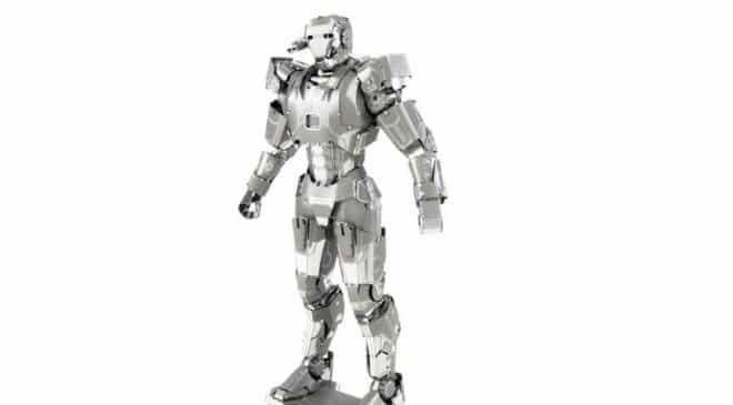 3,38€ le robot métallique à construire