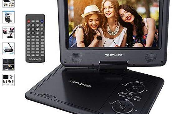 39,99€ le lecteur DVD portable 9,5″ port inclus