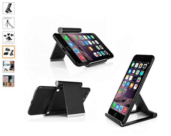 vente flash 6 99 le support aluminium pour iphone et smartphone. Black Bedroom Furniture Sets. Home Design Ideas