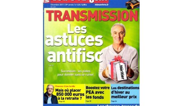 Abonnement au magazine Mieux Vivre Votre Argent à seulement 14€ (11 numéros)