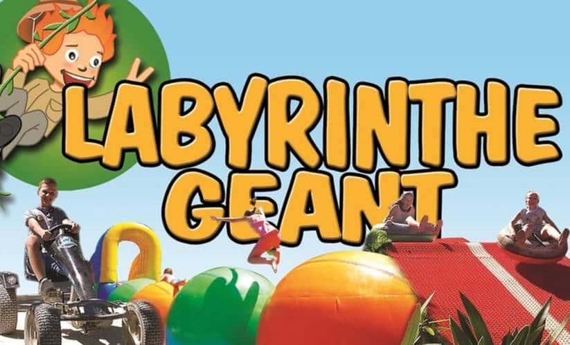 Billet Labyrinthe Géant pas cher