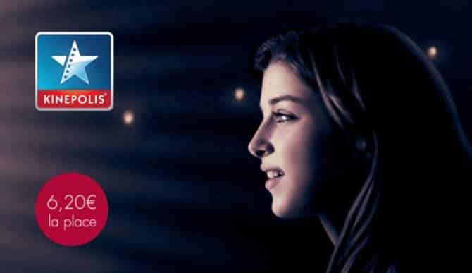 Billet de cinéma Kinepolis moins cher