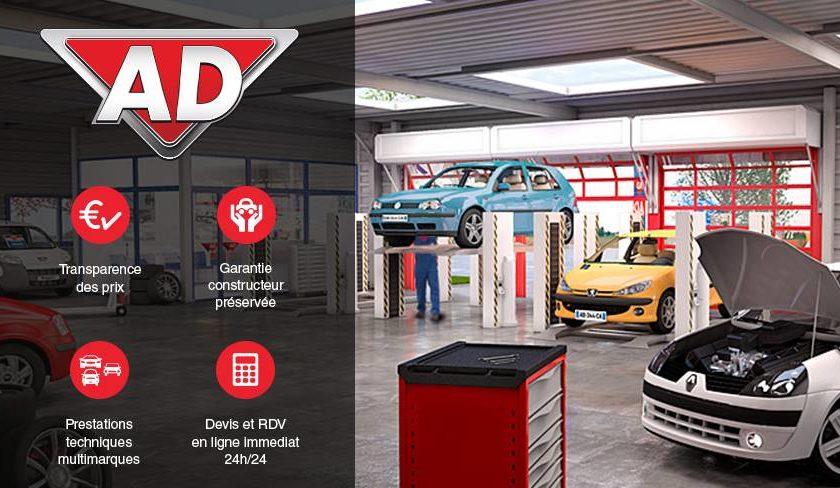 Bon d'achat centre auto Ad Auto