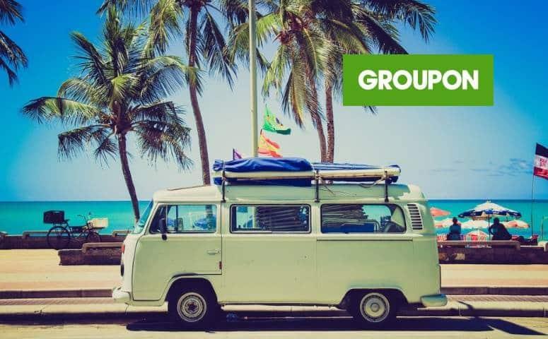 Code promo remise Vacances GROUPON