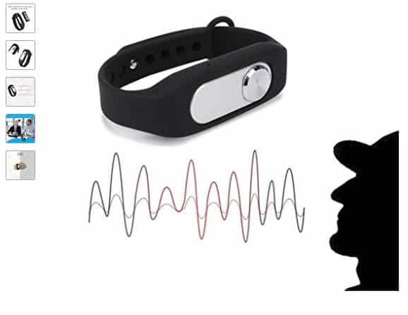 Concours : bracelet 2 en 1 dictaphone – espion à gagner