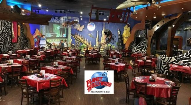 Coupon Planet Hollywood Disneyland