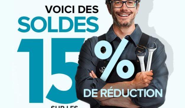 PiecesAuto : remise de 15% sur l'ensemble du site