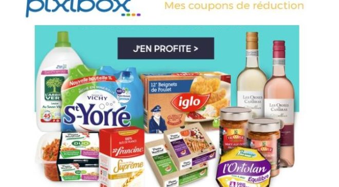 Pixibox coupons de reductions a imprimer