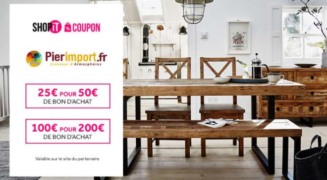 Vente privée Pier Import