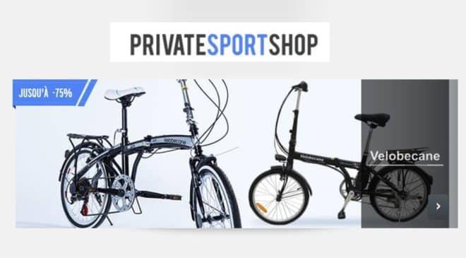 Vente privée vélos Velobecane