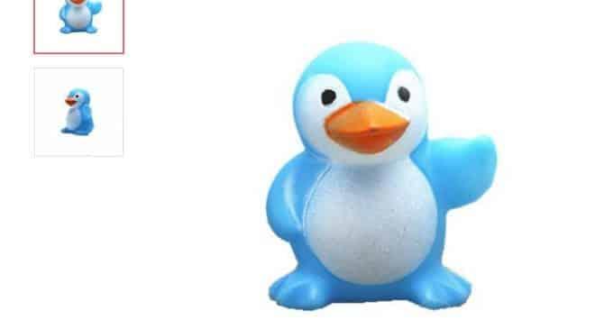 jouet Pingouin de bain à seulement 0,18€