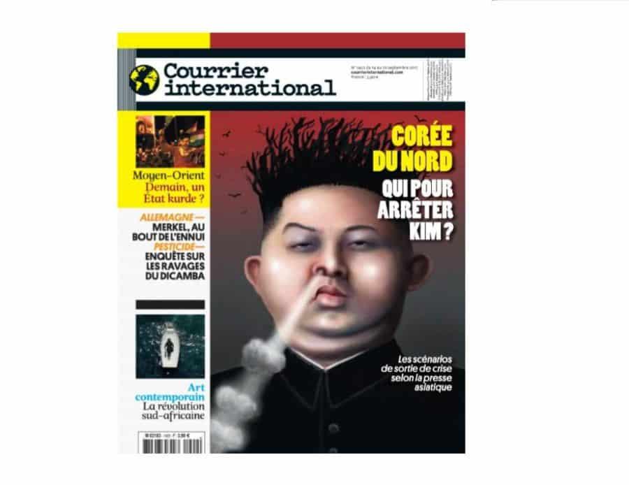 1 num u00e9ro du magazine courrier international gratuit  version papier