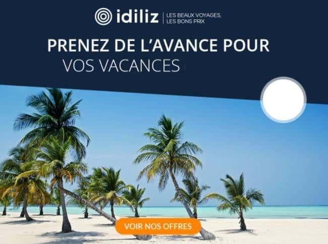ventes privées Idiliz remises voyages et vacances de reves